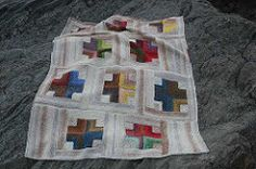 Mitered Crosses Blanket FOR MERCY CORPS pattern by Kay Gardiner *All proceeds from this pattern are donated by the designer to Mercy Corps, an international relief Knitting Blogs, Knitting Projects, Knitting Patterns, Crochet Patterns, Blanket Patterns, Free Knitting, Crochet Ideas, Knitted Afghans, Knitted Blankets