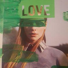 @scher | LOVE | Season of Words | Get Messy Art Journal