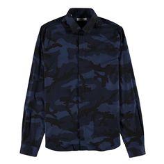 Valentino Camouflage Printed Shirt | CRUISE