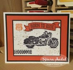 Siara Sweet Sensations: Team Stamp It's Stampin' Up!'s New Catalog Blog Hop Masculine Card using One Wild Ride