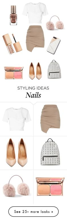 """Glitter"" by scarlett-anon on Polyvore featuring T By Alexander Wang, Maison Margiela, MCM, Stila and Barry M"