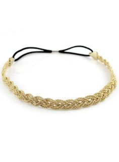 Jewelry for your hair-  Alloy Gold Plait Hair Accessary
