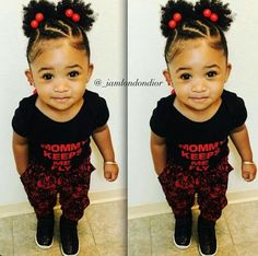 Cute Baby Hairstyles Glamorous ✨ Go Follow Blackgirlsvault For More Celebration Of Black Bea