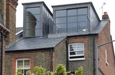 Jonathan Brunskill: Design and build of two dormers for end of terrace house in London.
