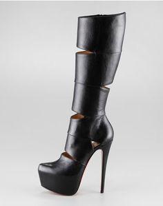 Christian Louboutin Bandita Leather Boot