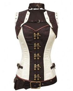 Large Selection of Steampunk Corsets from a variety of designer. Off the shelf Steampunk Corsets and bespoke made to order. Mail Order or visit our Portsmouth Steampunk Shop. Corset Steampunk, Steampunk Outfits, Mode Steampunk, Victorian Steampunk, Steampunk Clothing, Steampunk Fashion, Gothic Fashion, Steampunk Necklace, Emo Fashion