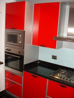 Mobila Bucatarie cu plita inox si gratare din fonta Wall Oven, Kitchen Appliances, Diy Kitchen Appliances, Home Appliances, Kitchen Gadgets