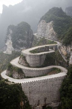 On the bucket list: Drive this road..
