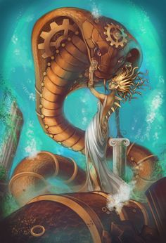 steampunk medusa - Google Search