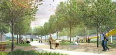 Pioneer Park | Mesa, Arizona | Dig Studio #landscapearchitecture #plan #concept #masterplan