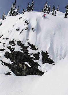 Jess picks her line. PHOTO: Erin Hogue   Caught Up with Hana Beaman and Jess Kimura   TransWorld SNOWboarding