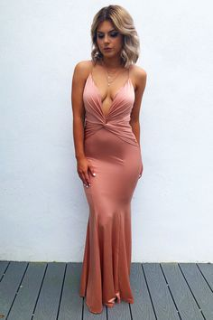 Share to save 10% on your order instantly! All Dolled Up Maxi: Rose Gold