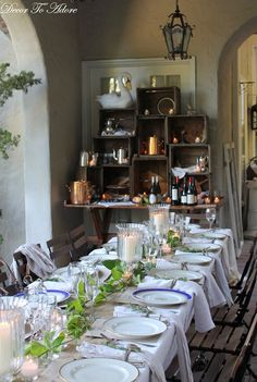 great way to set up a buffet from Decor to Adore farm to table 133