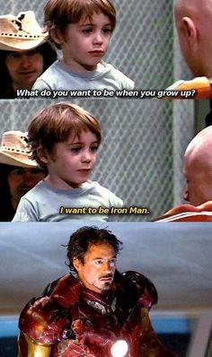 Robert Downey Jr./Iron Man ♡ cute!