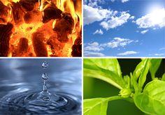 Ayurveda four elements