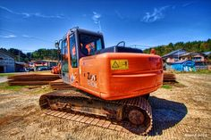 My HDR Photo: Power shovel. #hdr #hdrphotography #hdrtonemapping #photography #photomatix #topazadjust