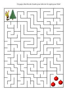 labyrinthe noel Mazes For Kids, Indoor Activities For Kids, Christmas Activities, Toddler Activities, Preschool Activities, Mickey Coloring Pages, Christmas Coloring Pages, Abacus Math, Visual Perception Activities