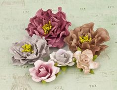 Prima  Layla Flowers 571443 by DiscountPaperCrafts on Etsy, $4.69