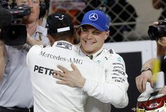 Valtteri Bottas gets pole position ahead of Lewis Hamilton for Abu Dhabi GP