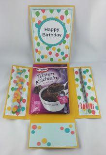 ......mamamisas welt......: Geburtstagstassenkuchenverpackung