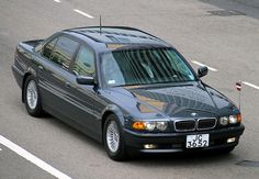 E38 BMW 750iL Security in Steel Grey