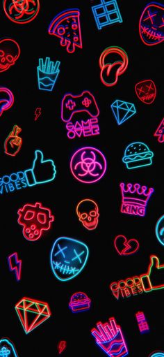 Good Vibes Dope Wallpaper Iphone, Crazy Wallpaper, Pretty Phone Wallpaper, Hipster Wallpaper, Phone Screen Wallpaper, Cool Wallpapers For Phones, Cute Wallpaper Backgrounds, Iphone Wallpapers, Neon Wallpaper