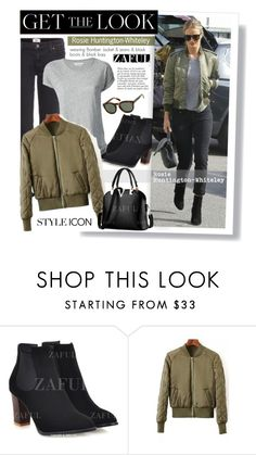 """""""Zaful.com: Get the look-->Rosie Huntington-Whiteley"""" by hamaly ❤ liked on Polyvore featuring Étoile Isabel Marant, Anja, women's clothing, women's fashion, women, female, woman, misses, juniors and GetTheLook"""