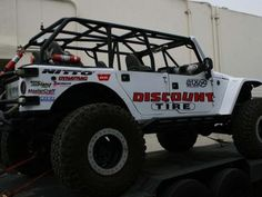 Off Road Evolution is proud to announce that Discount Tire Motorsports has signed on as Title Sponsor for its 2013 racing season. With the support of Discount Tire, Off Road Evolution will campaign Two Rigs - its EVO 1 JK and EVO TJ - at the King of the Hammers Main Event and Everyone Challenge Event, as well as the Ultra4 Glen Helen and Ultra4 Vegas to Reno event. Discount Tire joins a dedicated list of incredible sponsors already committed to the EVO Racing Team.