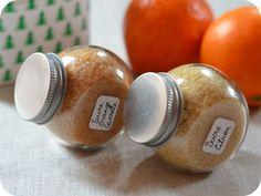 Cadeaux gourmands : sucres parfumés (citron ou orange-cannelle) | Les Yeux plus gros que le Ventre