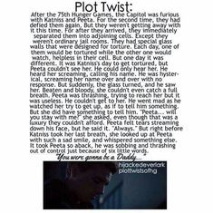 One of the first plot twists that really made me cry.i can't stand it. can't express my feelings in words right now.peeta and katniss. Hunger Games Plot, Hunger Games Memes, Hunger Games Catching Fire, Hunger Games Trilogy, Hunger Games Problems, Fandoms Unite, Katniss And Peeta, Katniss Everdeen, Jenifer Lawrence