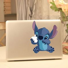 Apple Computer Laptop Ideas of Apple Computer Laptop # - Apple Computer Laptop - Ideas of Apple Computer Laptop - Stitch MacBook decal. Apple Computer Laptop Ideas of Apple Computer Laptop Stitch MacBook decal. Lilo Og Stitch, Stitch Disney, Mac Book, Apple Computer, Computer Laptop, Laptop Computers, Disney And Dreamworks, Disney Pixar, Disney Nerd