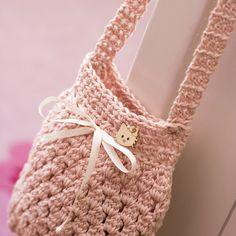 Crochet bag for girls