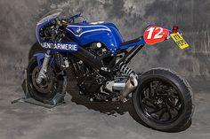 RocketGarage Cafe Racer: INTERCEPTOR MK2 by XTR
