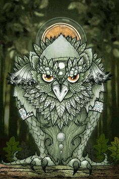 """Forest Owl"" image Christophe Tritz"