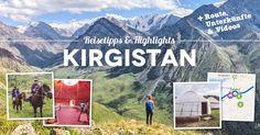 Kirgistan Guide: Die 14 besten Kirgistan Reisetipps, Sehenswürdigkeiten, Highlights, Aktivitäten, Wanderungen und Treks in Kirgistan.