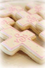 baptism or first communion cookies