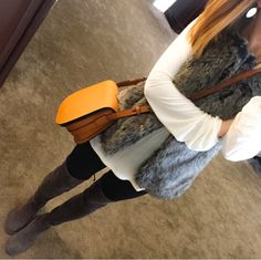 Faux Fur + Camo #thenortheastgirl