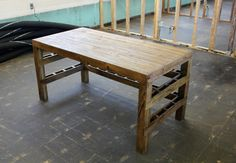 Sweet Pallet Desk! Bench?