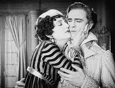 Carmel Myers and John Barrymore in Beau Brummel, 1924