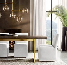 Underrated Questions About Change Your Living Room Decor on a Limited Budget in Six Steps You Should Know About - homeuntold Dining Room Design, Dining Room Table, Dining Set, Fine Dining, Dining Rooms, Glass Installation, Linear Chandelier, Shops, Modern Glass