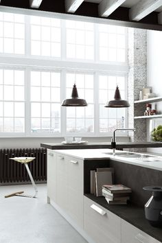Estilo Interior, Interior Desing, Interior Design Kitchen, Interior Architecture, Kitchen Decor, Nice Kitchen, Kitchen Black, Interior Modern, Kitchen Styling