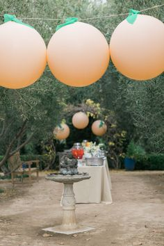 Photography : Jenna Elliott of One Eleven Photography Read More on SMP: http://www.stylemepretty.com/living/2016/02/21/james-and-the-giant-peach-sip-see/