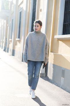 (wearing Céline and Acne Studios) - afterDRK