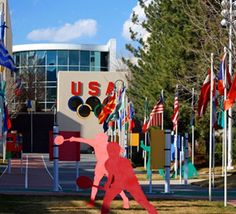 Get inspired with an incredible tour of the United States #Olympics Training Center in #Colorado Springs