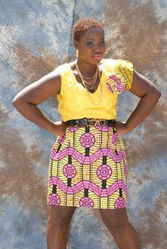 Sumahrie collections ankara dress
