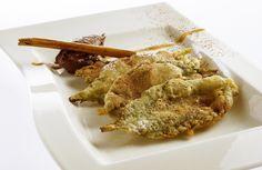 Crespillos de borraja - Gastronomía Aragonesa