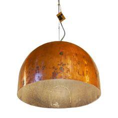 Industriële Koperen Hanglamp Indusigns Amsterdam Copper Lamps, Boiler, Pendant Lights, Amsterdam, Glow, House Ideas, Ceiling Lights, Interior Design, Lighting