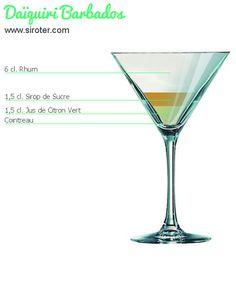 Recette Cocktail DAÏQUIRI BARBADOS
