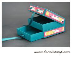 Stampin' UP! Box mit DSP Gartenparty