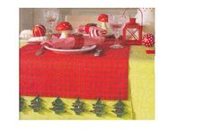 Bico Árvore de Natal em Crochê -  /  Beak Christmas tree Crochet -1